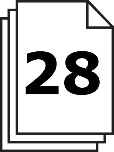 Le PURE 740 de HSM peut détruire 28 feuilles en 1 fois