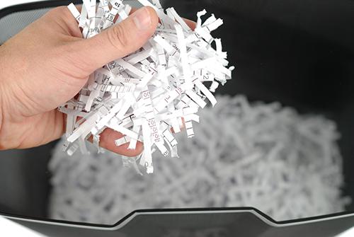 Reconstituer un document après avoir été broyé